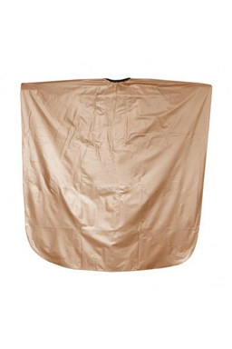 SALON KOMPLET Kadernícka farbiace pláštenka z PVC - zlatá