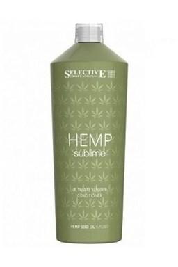 SELECTIVE Hemp Sublime Conditioner 1000ml - kondícií s konopným olejom pre suché vlasy