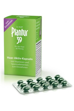 PLANTUR 39 Aktivní kapsle cps.60 - vitamíny proti vypadávání vlasů u žen