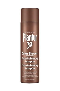 PLANTUR 39 Color Brown fyto-kofeinový šampon proti padání na hnědé vlasy 250ml