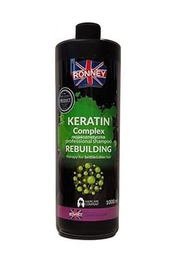 RONNEY Keratin Shampoo 1000ml - šampon s keratinem pro slabé a křehké vlasy
