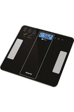 SENCOR SBS 8000BK Fitness váha do 180kg s merania telesných parametrov - čierna