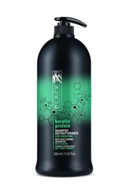 BLACK Keratin Protein Shampoo 1000ml - keratinový šampon na poškozené vlasy