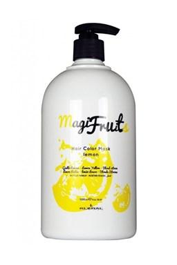 KLÉRAL MagiFruits Hair Color Mask Lemon - barvící vyživující maska na vlasy 1000ml