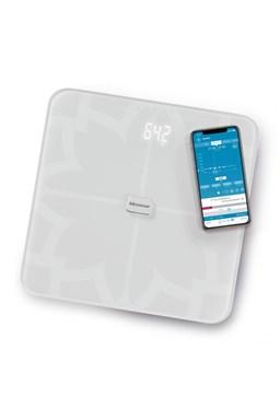 MEDISANA BS 450 WH CONNECT - Analytická digitálna váha do 180kg s Bluetooth - biela