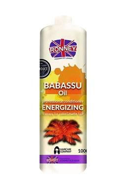 RONNEY Babassu Oil Conditioner 1000ml - kondicionér pro barvené a zářivé vlasy