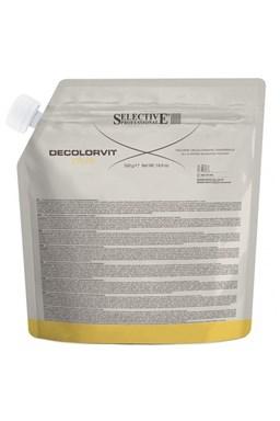 SELECTIVE Melír DeColor Vit Plus - platinový odbarvovací prášek 500g - sáček