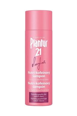 PLANTUR 21 Longhair Nutri-kofeinový šampon pro posílení růstu vlasů 200ml