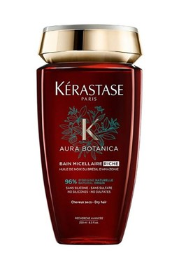 KÉRASTASE Aura Botanica Bain Micellaire Riche 250ml - šampon pro oslabené a velmi suché vlasy