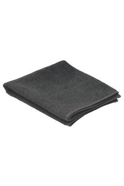 SIBEL Invincible Black kadernícky uterák froté 80x50cm, 100% bavlna - čierny