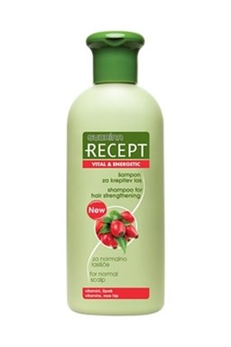 SUBRINA Recept Vital Energetic Shampoo 400ml - šampón pre podporu rastu vlasov