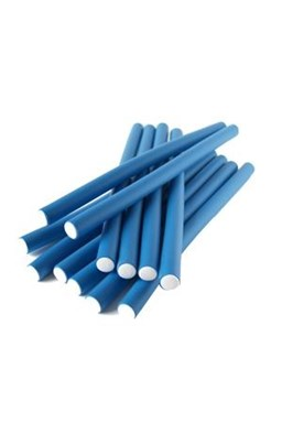 DNA Evolution BLUE Flex Rollers 12ks - papiloty na vlasy 14x240mm - modré