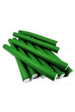 DNA Evolution GREEN Flex Rollers 12ks - papiloty na vlasy 22x240mm - zelené