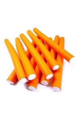 DNA Evolution ORANGE Flex Rollers 12ks - papiloty na vlasy 16x240mm - oranžové