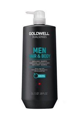 GOLDWELL Dualsenses Men Hair And Body Shampoo 1000ml - šampon a sprchový gel pro muže