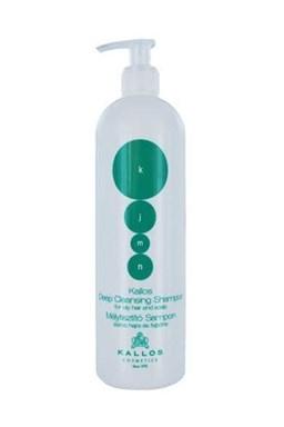 KALLOS KJMN Deep Cleansing Shampoo 1000ml - šampon na mastné vlasy