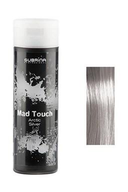 SUBRINA Mad Touch Gelová barva na vlasy Artic Silver 200ml - stříbrná