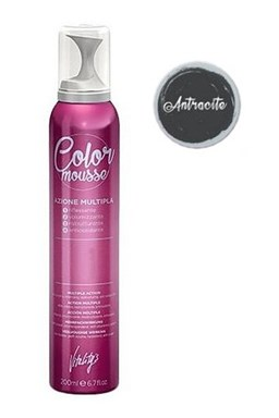 VITALITYS Color Mousse ANTRACITE barevné pěnové tužidlo 200ml - tmavě šedé