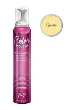 VITALITYS Color Mousse BIONDO barevné pěnové tužidlo 200ml - světlá blond