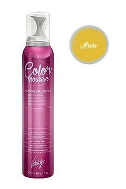 VITALITYS Color Mousse MIELE barevné pěnové tužidlo 200ml - tmavá blond