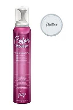 VITALITYS Color Mousse PLATINO barevné pěnové tužidlo 200ml - platinová blond