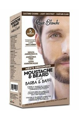 RENEÉ BLANCHE Men´s Grooming Light Chestnut - profi 5min. barva na vousy a kníry - světle hnědá