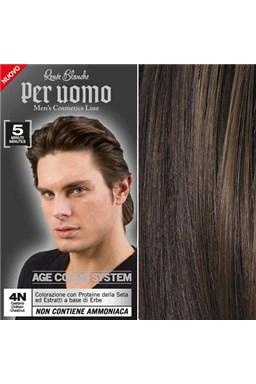 RENEÉ BLANCHE Per Uomo 4N Chestnut - 5ti minutová barva na vlasy pro muže - hnědá
