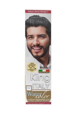 KLÉRAL King Italy Water Color BLACK - černá barva na vlasy pro muže