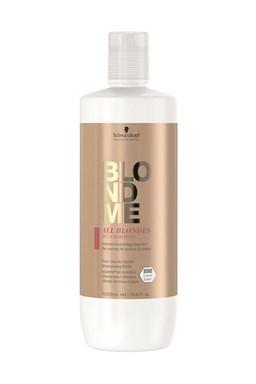 SCHWARZKOPF BlondMe All Blondes Rich Shampoo 1l - vyživující a hydratační šampon pro blond vlasy