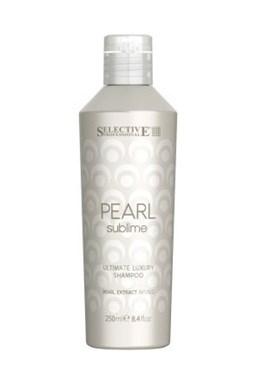 SELECTIVE Pearl Ultimate Luxury Shampoo 250ml - šampón pro světlé vlasy
