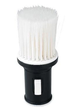 SIBEL Talk Talc peria štetka pre aplikáciu púdru po holení - čierno-biela
