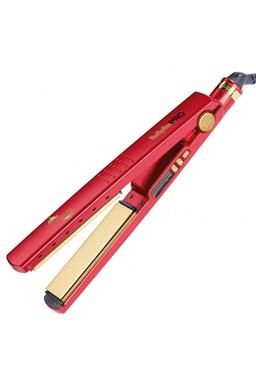 BABYLISS PRO 3091DRTE RED Titanium Ionic - profi žehlička vlasů s titanovýmu destičkami
