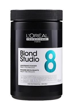 LOREAL Professionnel Blond Studio Multi-Techniques Powder 500g - melír s Pro-Keratinem