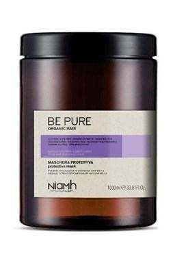 NIAMH Be Pure Protective Mask 1000ml - maska na barvené a odbarvené vlasy