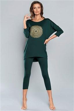 Pyžamo Italian Fashion Mandala R.3 / 4 sp.3 / 4