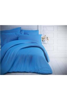 Kvalitex jednofarebné bavlnené obliečky modré