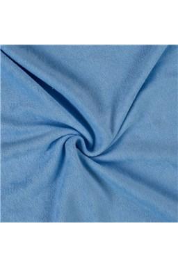 Kvalitex froté plachta svetlo modré