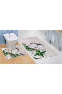 Kvalitex Kúpeľňová a WC predložka Jadran 3D