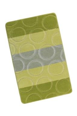 Kvalitex Kúpeľňová predložka zelené krúžky