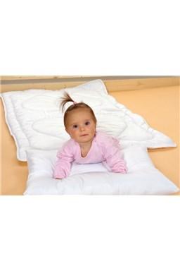 Kvalitex Prikrývka do detskej postieľky biela