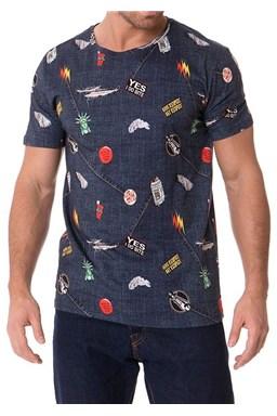 Pánske tričko John Frank JFTD01